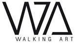 Logo Walking Art Shinjuku Japanese Language Institute Paris