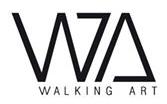 Logo Walking Art - Shinjuku Japanese Language Institute Paris