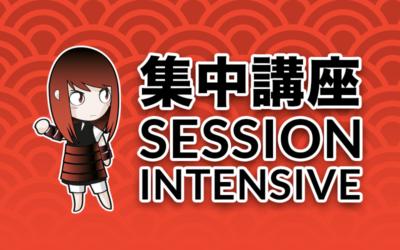 Sessions intensives de septembre