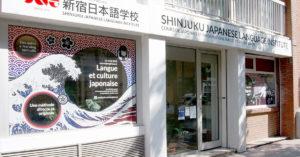 SNG-Paris-Exterieur Shinjuku Japanese Language Institute