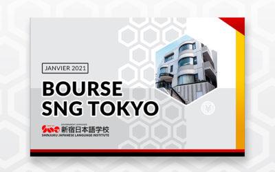 BOURSE SNG : 6 mois de cours offerts à Tokyo !